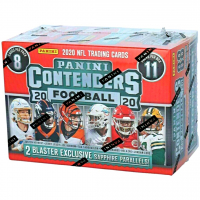 2020 Panini Contenders Football Fanatics Exclusive Blaster Box with (11) Packs at PristineAuction.com