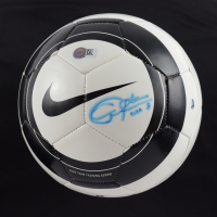 "Christie Rampone Signed Nike Soccer Ball Inscribed ""USA"" (Steiner COA) at PristineAuction.com"