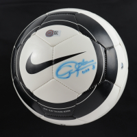 """Christie Rampone Signed Nike Soccer Ball Inscribed """"USA"""" (Steiner COA) at PristineAuction.com"""