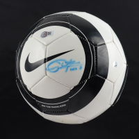 "Christie Rampone Signed Nike Soccer Ball Inscribed ""USA"" (Steiner COA & Schwartz Sports COA) (See Description) at PristineAuction.com"