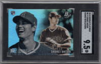Shohei Ohtani 2018 Bowman Platinum Rookie Revelations #RR9 (SGC 9.5) at PristineAuction.com