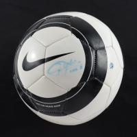 "Christie Rampone Signed Nike Soccer Ball Inscribed ""USA"" (Steiner COA) (See Description) at PristineAuction.com"