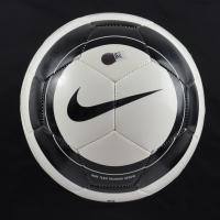 """Christie Rampone Signed Nike Soccer Ball Inscribed """"USA"""" (Steiner COA) (See Description) at PristineAuction.com"""