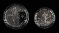 United States Mint Columbus Quincentenary Coin Set with (2) Coins at PristineAuction.com