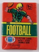 1980 Topps Football Pack of (12) Football Cards at PristineAuction.com