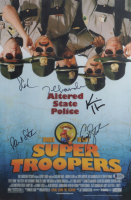 """""""Super Troopers"""" 12x18 Photo Cast-Signed by (5) with Jay Chandrasekhar, Kevin Heffermen, Steve Lemme (Beckett LOA) at PristineAuction.com"""