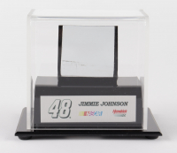 Jimmie Johnson NASCAR #48 Race-Used Sheet Metal Display (Fanatics COA) at PristineAuction.com