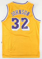 Magic Johnson Signed Lakers Jersey (PSA COA) (See Description) at PristineAuction.com