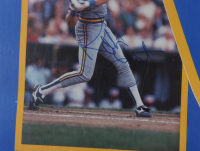 1990 Brewers 22x34 Poster Team-Signed by (7) with Robin Yount, Greg Brock, Teddy Higuera, Dale Sveum, Rob Deer (Beckett LOA) at PristineAuction.com