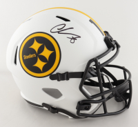 Chase Claypool Signed Steelers Full-Size Eclipse Alternate Speed Helmet (Beckett Hologram) at PristineAuction.com