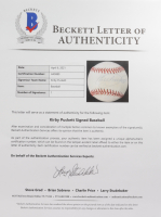 Kirby Puckett Signed OAL Baseball (Beckett LOA) at PristineAuction.com