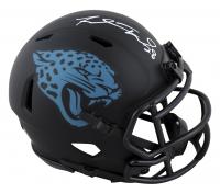 Fred Taylor Signed Jaguars Eclipse Alternate Speed Mini-Helmet (Beckett Hologram) at PristineAuction.com