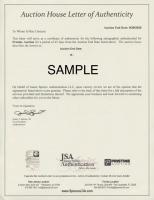 """Back to the Future"" California License Plate Signed By (4) With Michael J. Fox, Christopher Lloyd, Lea Thompson & Thomas Wilson (Beckett COA & JSA ALOA) at PristineAuction.com"
