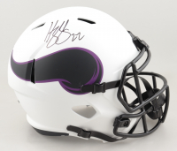 Harrison Smith Signed Vikings Full-Size Lunar Eclipse Alternate Speed Helmet (Beckett Hologram) at PristineAuction.com