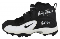 """Billy Shaw Signed Nike Football Cleat Inscribed """"HOF 99"""" (Beckett Hologram) at PristineAuction.com"""