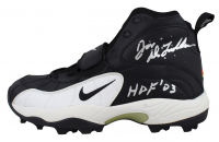 "Joe DeLamielleure Signed Nike Football Cleat Inscribed ""HOF '03"" (Beckett Hologram) at PristineAuction.com"