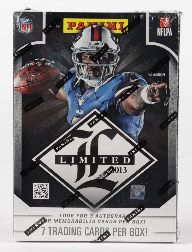2013 Panini Limited Football Hobby Box with (7) Cards at PristineAuction.com