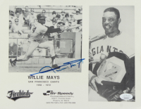 Willie Mays Signed Giants 8x10 Photo (JSA Hologram) at PristineAuction.com