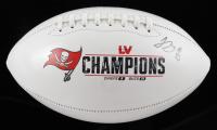 Jamel Dean Signed Buccaneers Super Bowl LV Logo Football (JSA COA) at PristineAuction.com