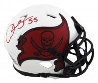 Derrick Brooks Signed Buccaneers Lunar Alternate Speed Mini-Helmet (Beckett Hologram) at PristineAuction.com