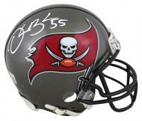 Derrick Brooks Signed Buccaneers Mini-Helmet (Beckett Hologram) at PristineAuction.com
