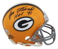 "Jan Stenerud Signed Packers Mini-Helmet Inscribed ""HOF '91"" (Beckett Hologram) at PristineAuction.com"