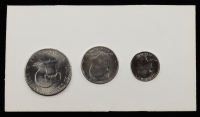 1776-1976 United States Bicentennial Silver Uncirculated Set with (3) Coins (See Description) at PristineAuction.com