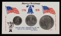 1776-1976 United States Bicentennial Silver Uncirculated Set with (3) Coins at PristineAuction.com