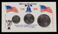 1776-1976 United States Bicentennial Silver Set with (3) Coins at PristineAuction.com