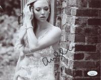 Amanda Seyfried Signed 8x10 Photo (JSA COA) at PristineAuction.com