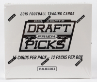 2015 Panini Prizm Collegiate Draft Picks Football Box with (12) Packs at PristineAuction.com