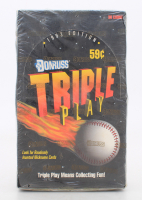 1993 Donruss Triple Play Baseball Card Box with (36) Packs (See Description) at PristineAuction.com