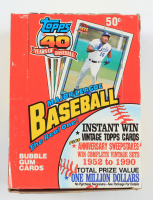 1991 Topps Baseball Cello Box with (36) Packs (See Description) at PristineAuction.com
