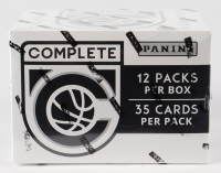 2016-17 Panini Complete Basketball Fat Pack Box with (12) Packs at PristineAuction.com