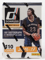 2016-17 Panini Donruss Basketball Blaster Box with (10) Packs at PristineAuction.com