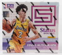 2017-18 Panini Status Basketball Hobby Box with (10) Packs at PristineAuction.com