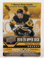 2019-20 Upper Deck Series 1 Hockey Blaster Box with (7) Packs at PristineAuction.com