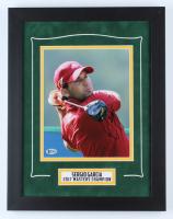 Sergio Garcia Signed 14x18 Custom Framed Photo Display (Beckett COA) at PristineAuction.com