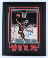 Dennis Rodman Signed Bulls 18x22 Custom Framed Photo Display (JSA COA & Fiterman Hologram) at PristineAuction.com