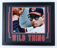 "Charlie Sheen Signed ""Major League"" 18x22 Custom Framed Photo Display (JSA COA) (See Description) at PristineAuction.com"