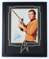 "William Shatner Signed ""Star Trek"" 18x22 Custom Framed Photo Display (JSA COA) (See Description) at PristineAuction.com"