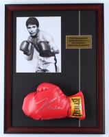Julio Cesar Chavez Signed 17x22 Custom Framed Everlast Boxing Glove Display (PSA COA) (See Description) at PristineAuction.com