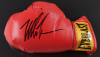Mike Tyson Signed 17x22 Custom Framed Everlast Boxing Glove Display (PSA COA) (See Description) at PristineAuction.com