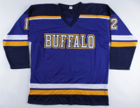 """Adam Oates Signed Jersey Inscribed """"HOF 2012"""" (Beckett COA) (See Description) at PristineAuction.com"""