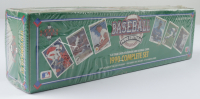 1990 Upper Deck Complete Set of (800) Baseball Cards with Sammy Sosa RC & Frank Thomas RC (See Description) at PristineAuction.com