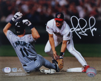 Omar Vizquel Signed Indians 8x10 Photo (PSA COA) at PristineAuction.com