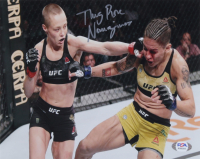 "Rose Namajunas Signed 8x10 Photo Inscribed ""Thug"" (PSA COA) at PristineAuction.com"