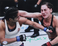 Cynthia Calvillo Signed UFC 8x10 Photo (PSA COA) at PristineAuction.com