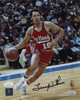 Lenny Wilkens Signed Trail Blazers 8x10 Photo (JSA COA) at PristineAuction.com