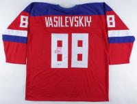 Andrei Vasilevskiy Signed Jersey (PSA COA) (See Description) at PristineAuction.com